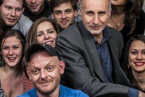 Zúčastnili sme sa vyučovania na Vysokej škole múzických umení v Bratislave.