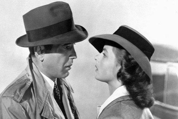 Legendárny film Casablanca.