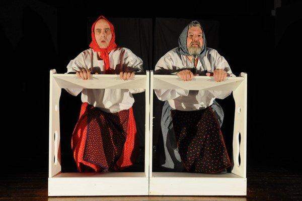 Inscenácia Neprebudený podľa poviedky Martina Kukučína v podaní divadla Commedia z Popradu.