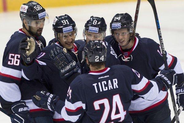 Hokejistov Slovana čaká súboj v Nižnom Novgorode.