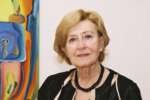 Viera Strnisková (30. 10. 1929 - 31. 8. 2013).