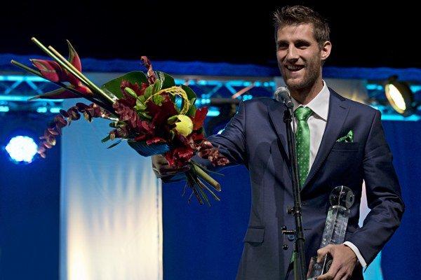 Martin Kližan získal v piatok ocenenie pre najlepšieho slovenského tenistu v tomto roku.