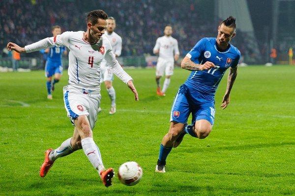 V poslednom federálnom derby malo v Žiline navrch Slovensko. Najdrahším hráčom našej reprezentácie je už niekoľko rokov Marek Hamšík.