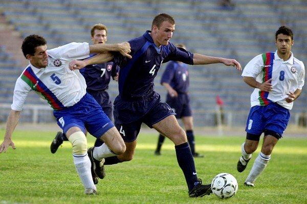 Vittek debutoval v národnom tíme ešte ako tínedžer v roku 2001. Na snímke v kvalifikačnom zápase o postup na MS 2002 proti Azerbajdžanu v Baku (0:2).