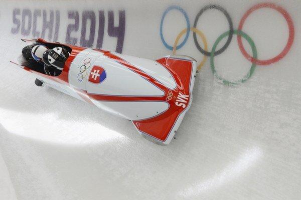 Slovenský štvorbob sa zúčastnil aj olympijských hier v Soči.