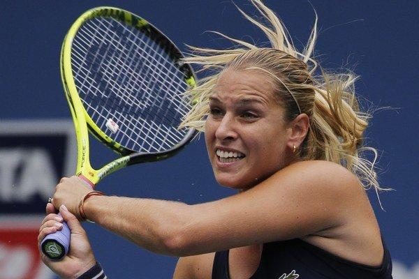 Dominika Cibulková potvrdila nárast formy. V prvom kole US Open zdolala bývalú svetovú jednotku.