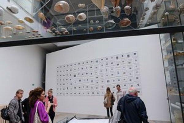 Pohľad na expozíciu v Pavilóne Českej a Slovenskej republiky.