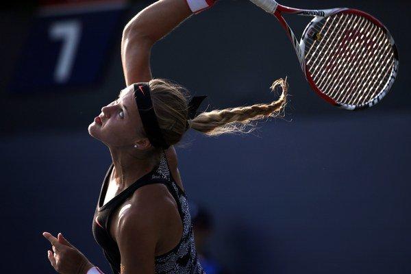 Karolína Schmiedlová je obrovským talentom slovenského tenisu.