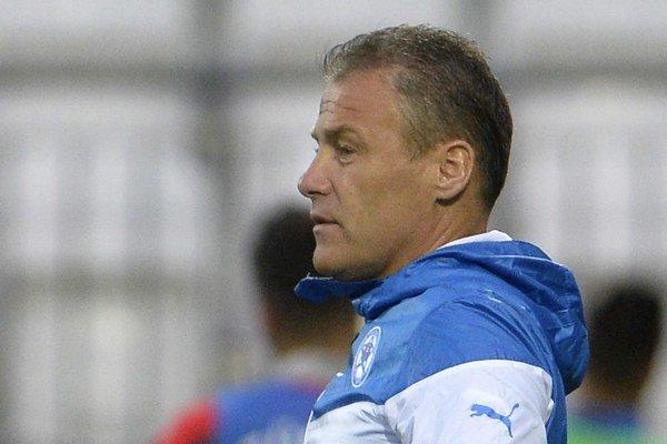 Tréner Pavel Hapal.