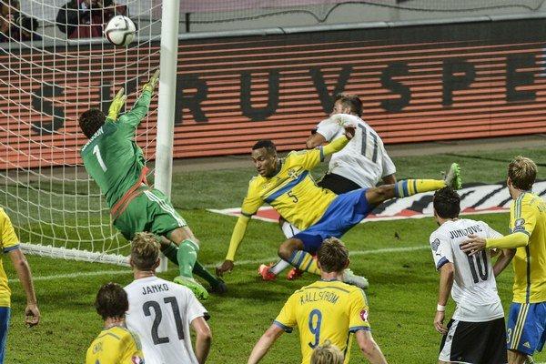 Rakúšania vyhrali nad Švédmi vysoko 4:1.