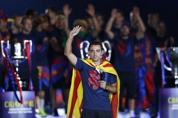 Xavi odohral väčšinu kariéry za FC Barcelona.