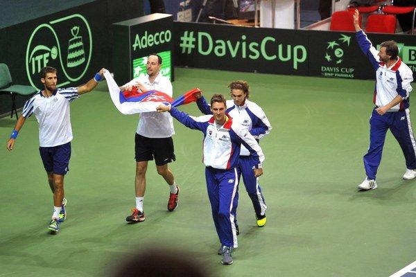 Slovenskí tenisti spoznali meno svojho najbližšieho protivníka. Predstavia sa však až v 2. kole.