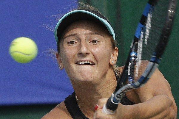 Rumunka Irina-Camelia Beguová nedala vo finále svojej súperke žiadnu šancu.