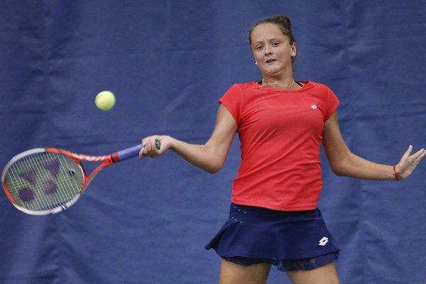 Viktória Kužmová je veľkým talentom slovenského tenisu.