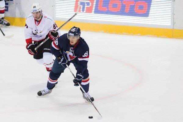 Gól nestrelil za Slovan ani Andrej Šťastný.