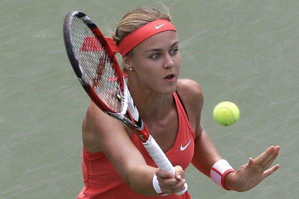 Anna Karolína Schmiedlová získala v Pekingu iba šesť gemov.