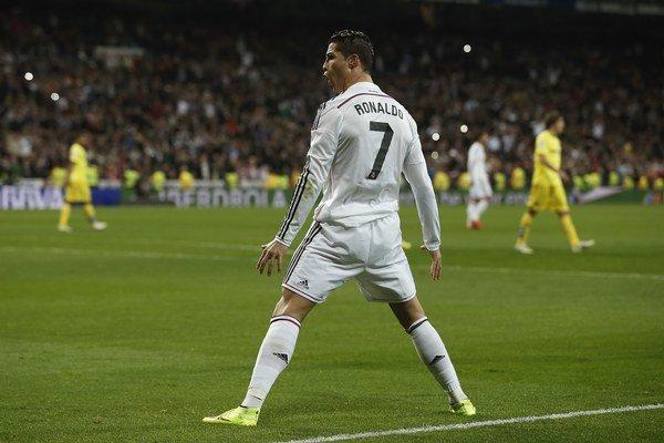 Aj hviezdny futbalista Realu Madrid Cristiano Ronaldo má svoje rituály.