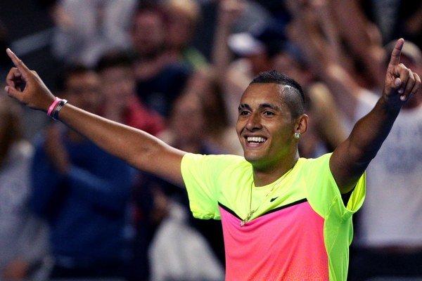 ATP označila Kyrgiosov výrok za urážku hráča, ale detaily trestu zatiaľ nezverejnila.