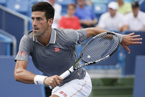 Novak Djokovič zatiaľ potvrdzuje úlohu favorita.