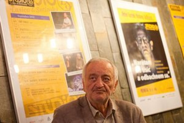 Milan Lasica. O vlastnom divadle rozmýšľali so Satinským ešte v časoch Divadla na korze.