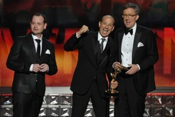 Ocenení tvorcovia seriálu Homeland.