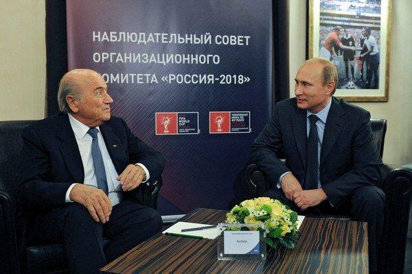 Blatter aj Putin majú nadštandardné vzťahy.