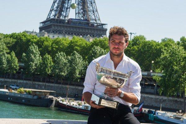 Víťaz Roland Garros 2015 Stan Wawrinka.