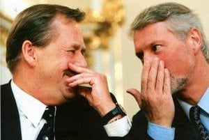 Na Havlovu ponuku, či nechce  byť jeho hovorcom, odpovedal Špaček okamžite: Rád, pán prezident.