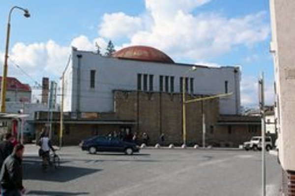 Pohľad na neologickú synagógu v Žiline, z ktorej má byť o dva roky galéria typu kunsthalle.