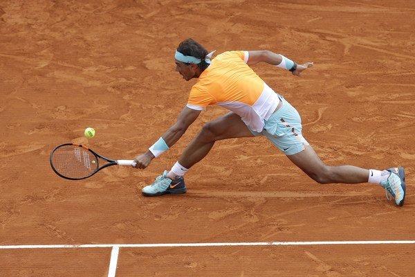 Antukový kráľ Rafael Nadal by si v Monaku rád pripísal ďalší turnajový vavrín.