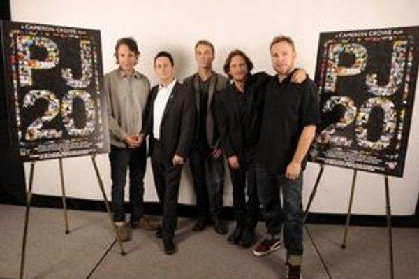 Pearl Jam na premiére filmu.