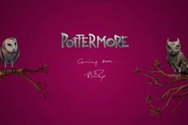 Dve sovy a odkaz. Stránka PotterMore.com o sebe zatiaľ viac neprezradila.