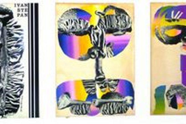Z výstavy Neznáme kresby Ivana Štěpána 1964/1965 v Galérii Cypriána Majerníka v Bratislave.