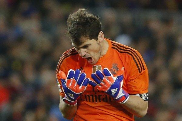 Brankár španielskej reprezentácie Iker Casillas.