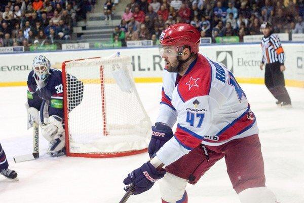 Alexander Radulov je jednou z najväčších hviezd KHL.