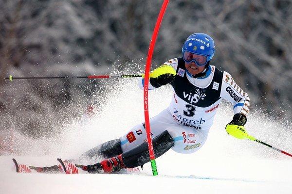 Švéd Hargin bol po prvom kole prvý.