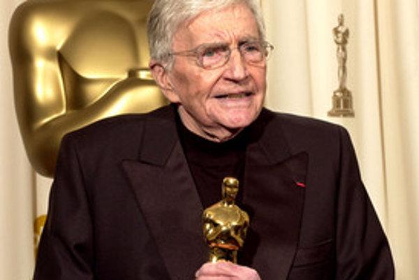 Blake Edwards na udeľovaní Oscarov v roku 2004.