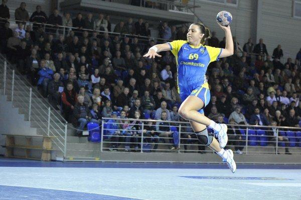 Za Iuventu Michalovce hrala na turnaji v Debrecíne aj Jevgenija Levčenková.