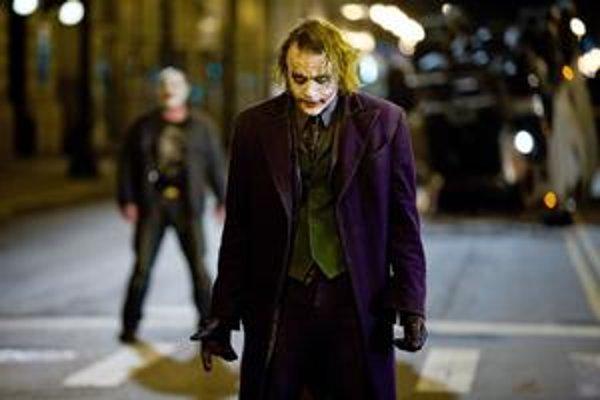 Heath Ledger v oscarovej úlohe Jokera.