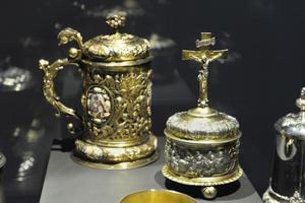 Na bratislavskom hrade je otvorená výstava Ars liturgia