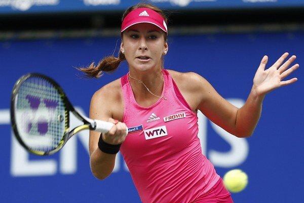 Bencicová postúpila v Číne do finále.