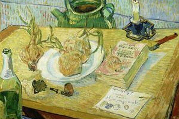 Z londýnskej výstavy Van Gogha.