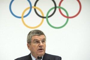 Prezident Medzinárodného olympijského výboru (MOV) Thomas Bach v Lausanne.