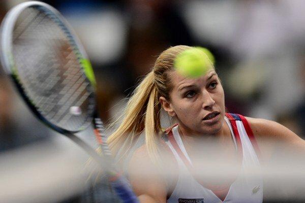 Slovenská tenistka Dominika Cibulková.