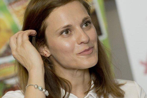 Slovenská reprezentantka Danka Barteková.