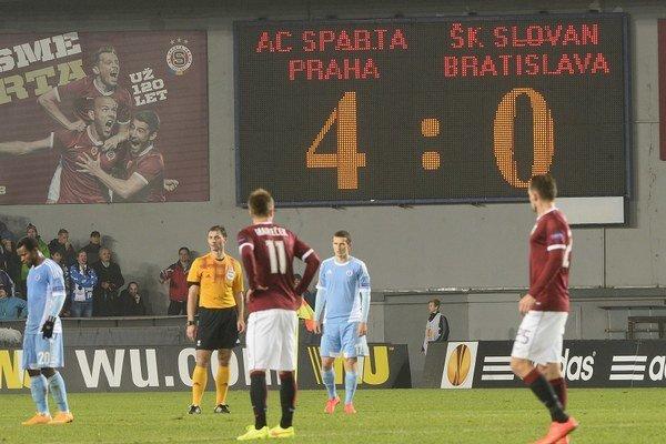 Slovan v tejto sezóne Európskej ligy ešte neskóroval.