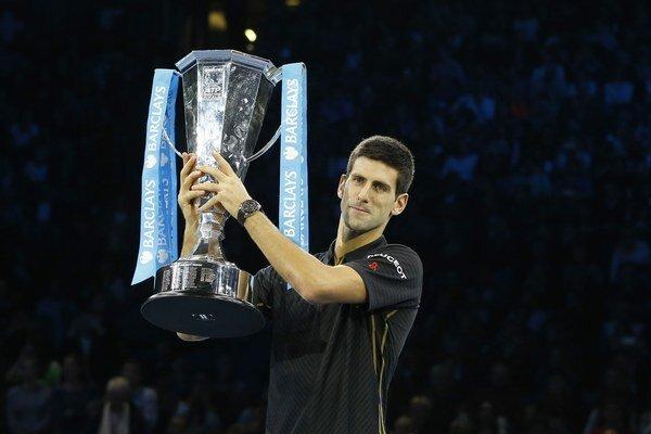 Djokovič po finále v Londýne, na ktoré Federer nenastúpil.