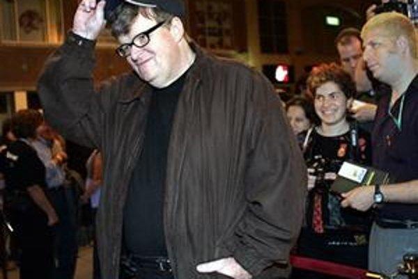 Michael Moore je populárny aj v Kanade. Svoj nový film prišiel predstaviť na festival do Toronta.