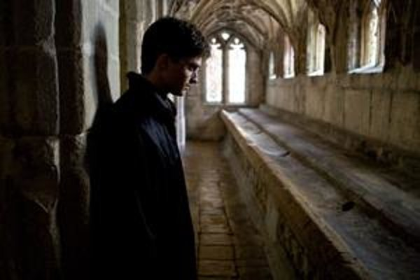 Daniel Radcliffe ako Harry Potter.