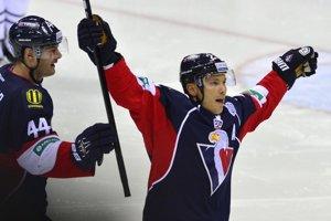 Ladislav Nagy dal v KHL v drese Slovana už desať gólov.
